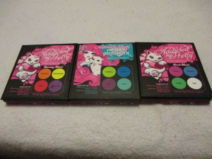 Sugarpill pressed eyeshadow palettes