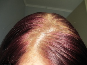 Before - with my awful regrowth (yes, Im a natural ginger)